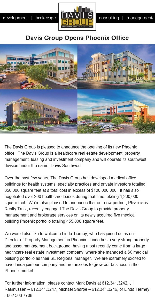 Davis Phoenix New Offices