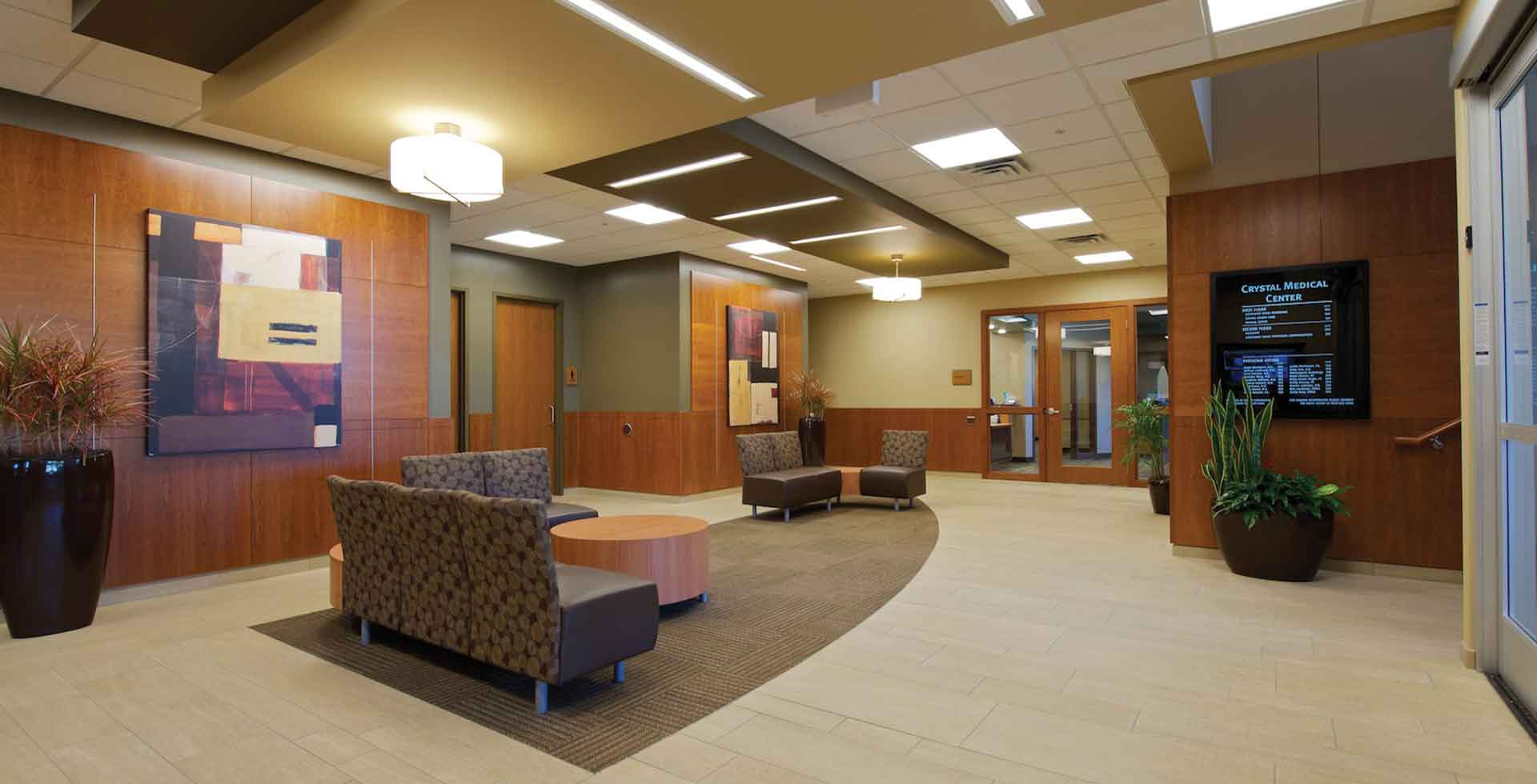 Crystal Medical Center Lobby - Crystal, MN