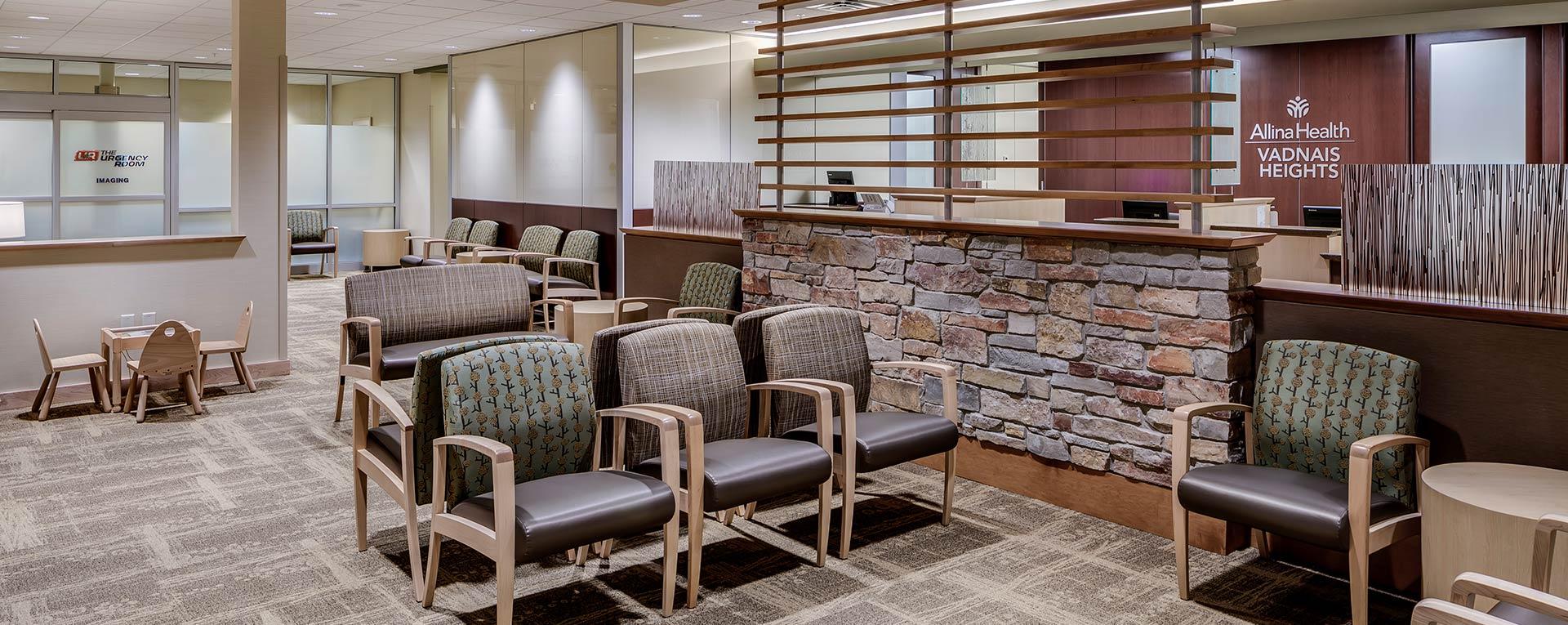 Helene Houle Medical Center Waiting Area