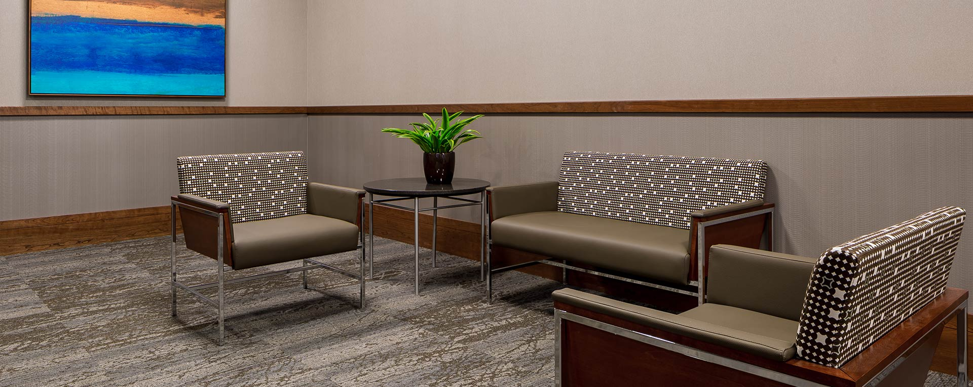 Helene Houle Medical Center Sitting Area