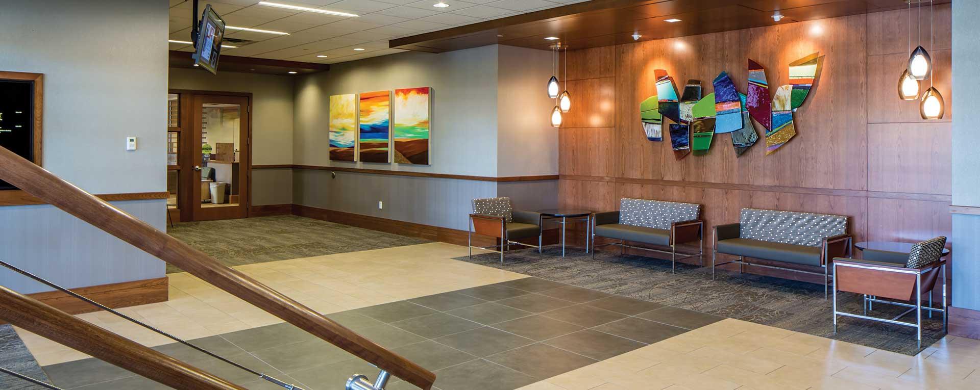 Helene Houle Medical Center Lobby