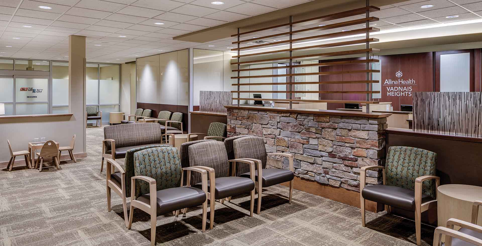 Helene Houle Medical Center lobby - Vadnais Heights, MN