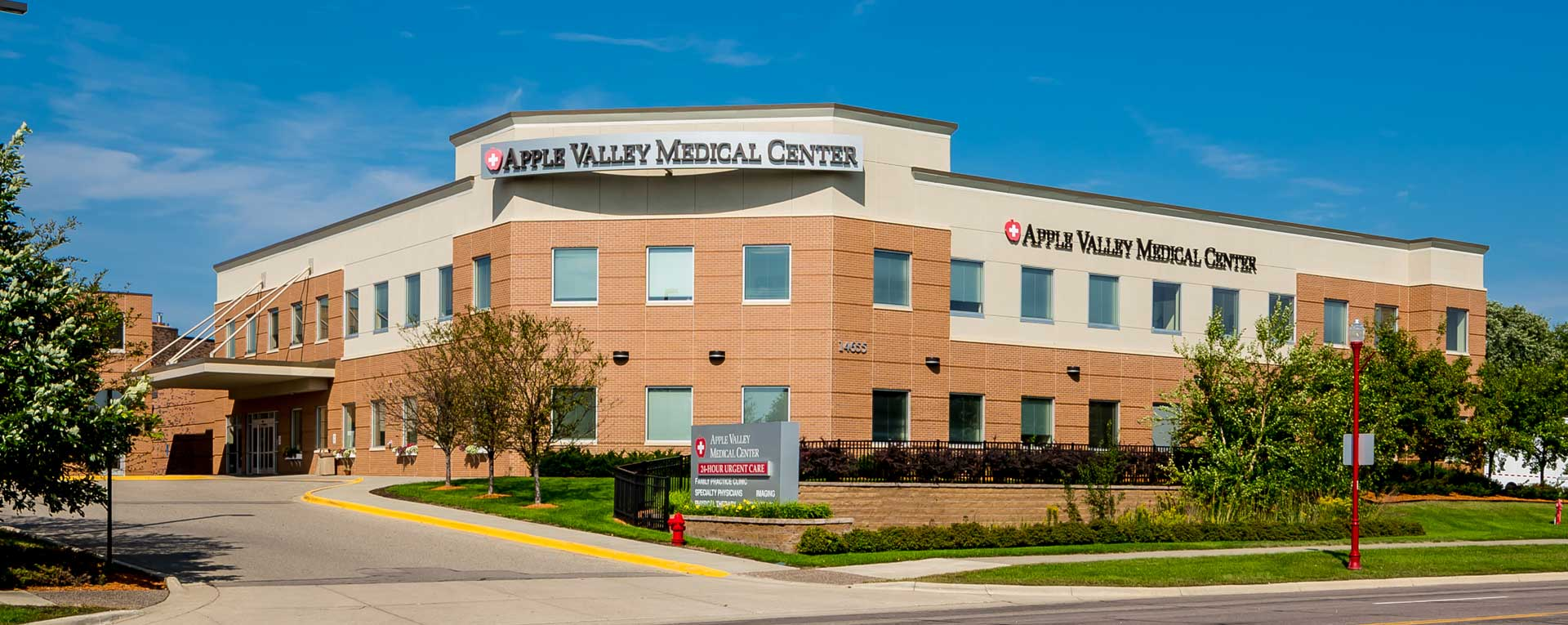 Apple Valley Medical Center Front - Apple Valley, MN