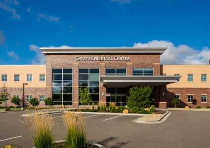 Front of Crystal Medical Center - Crystal, MN