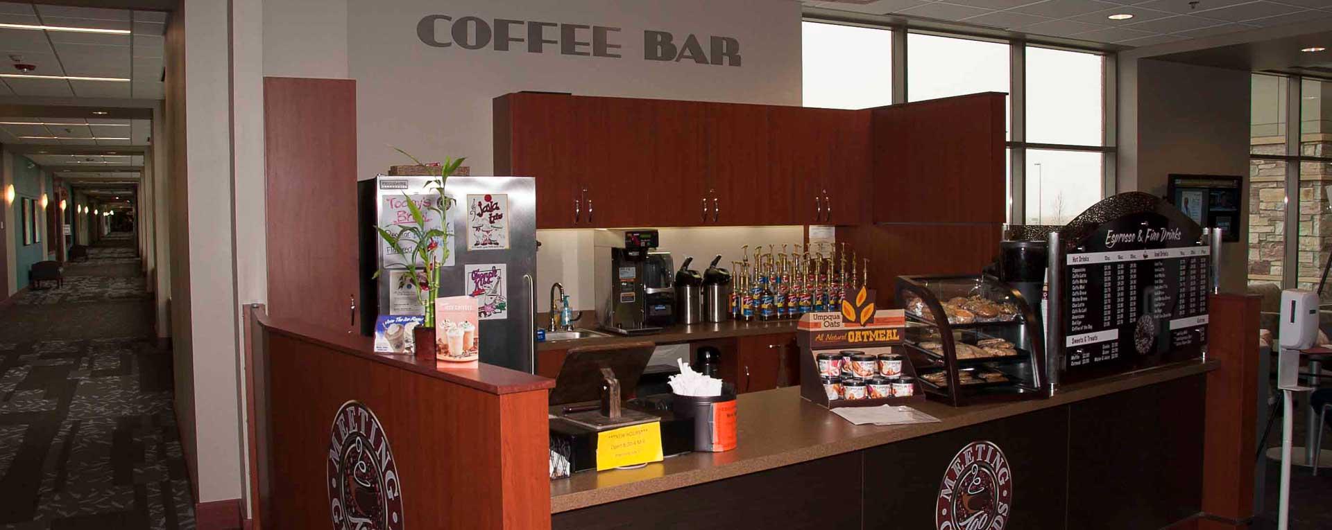 Jamestown Medical Building Coffee Bar