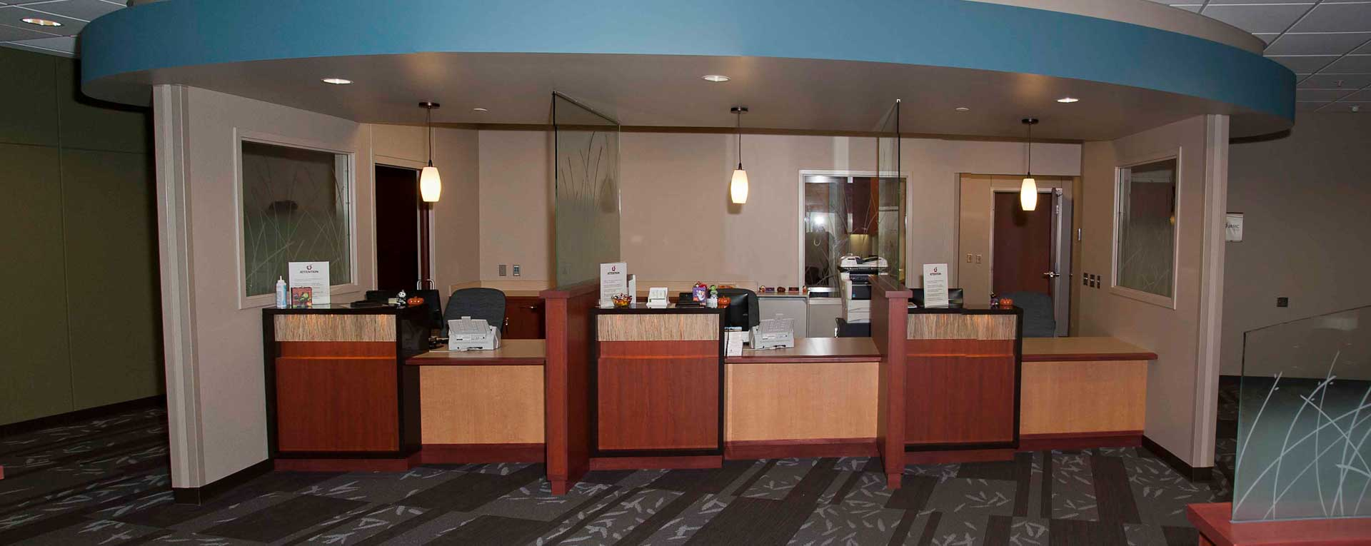 Jamestown Medical Building Lobby