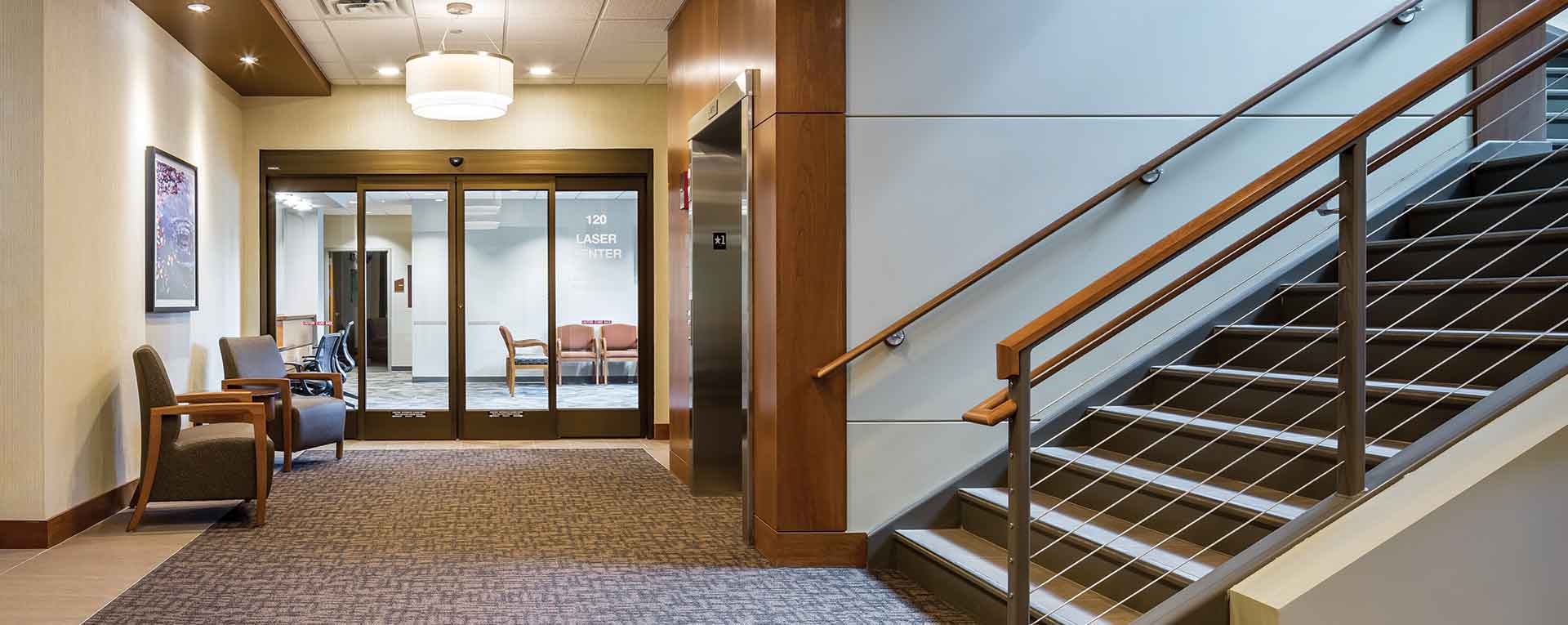 Inside Minnesota Eye Consultants Building