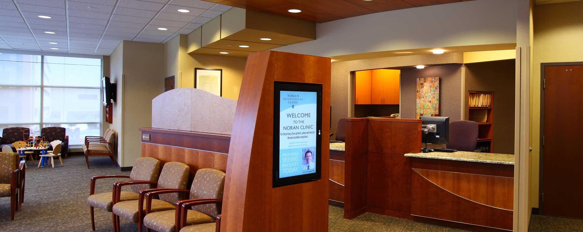 Midtown Noran Clinic Lobby