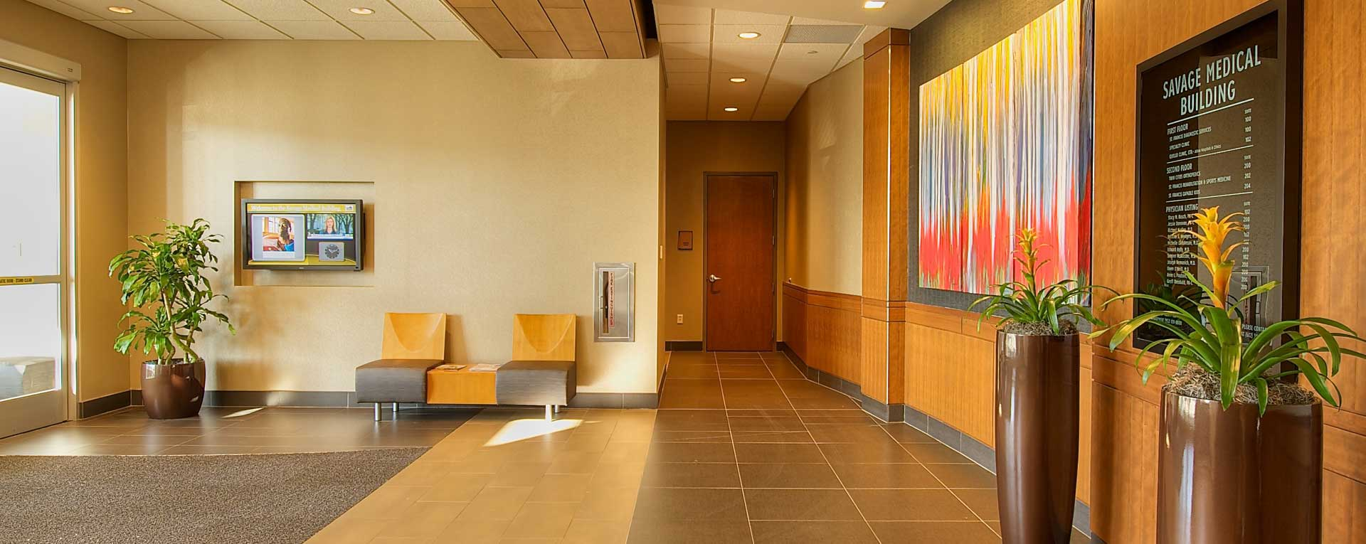 Savage Medical Building Lobby - Savage, MN