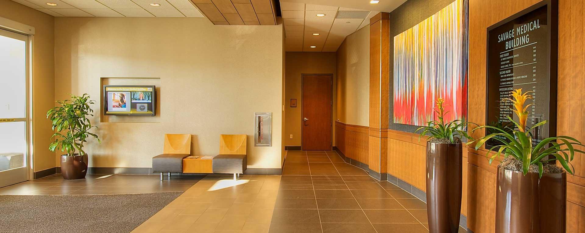 Savage Medical Building Lobby - Savage, MN