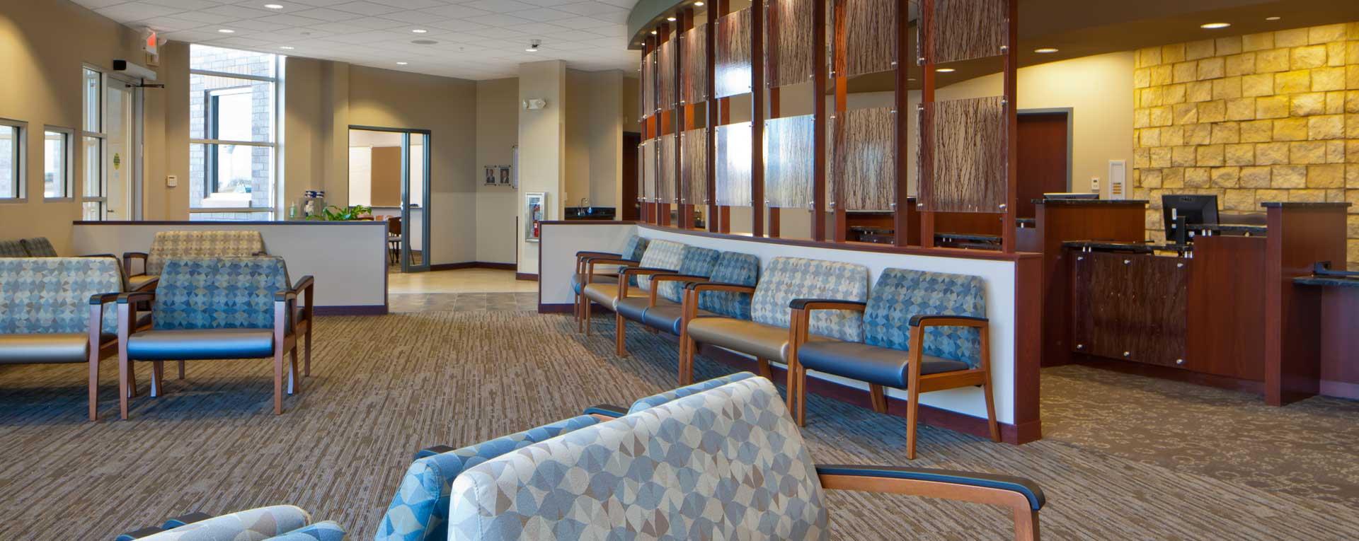 VA Clinic Main Lobby