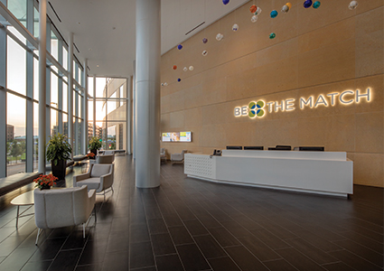 Be The Match Lobby