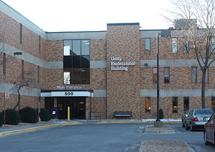Utility Professional Building Main Entrance
