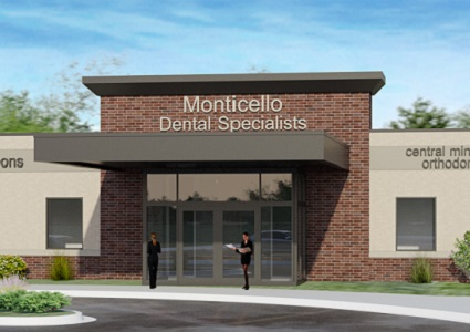 Monticello Dental Specialists Building